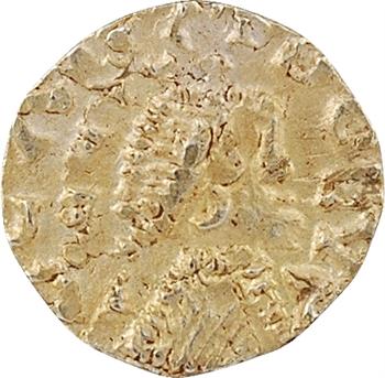 Aquitaine, Limoges (civitas Lemovicum) ou région limousine, trémissis d'un monétaire et lieu indéterminés, inédit sans doute, c.625-675
