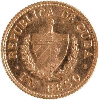 Cuba (République de), peso, 1915