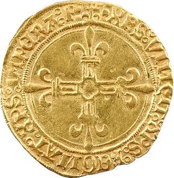 Louis XII, écu d'or au soleil de Provence, 3e type, Aix-en-Provence