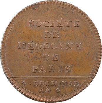 Directoire, Société de Médecine de Paris, 1796 Paris