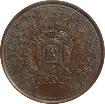Second Empire, Exposition universelle de Paris, 1855 Paris PCGS SP64BN