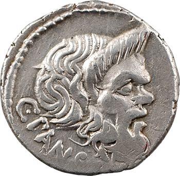 Vibia, denier, Rome, 48 av. J.-C.