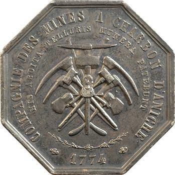 Aniche, jeton de présence des mines, 1774 (1845-1860) Paris