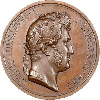 Retour des cendres, médaille par Barre, 1846