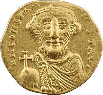 Constant II, solidus, Constantinople, 5e officine, 647-651