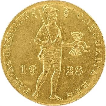 Pays-Bas, Wilhelmine Ire, ducat, 1928 Utrecht