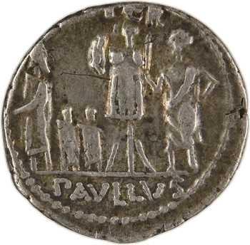 Aemilia, denier, Rome, 62 av. J.-C