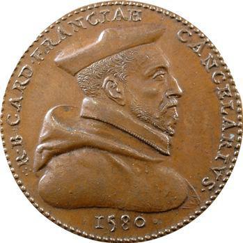 René de Birague, Chancelier de France, 1580 (refrappe XIXe s.)