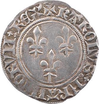 Charles VI, gros aux lis, Châlons-en-Champagne