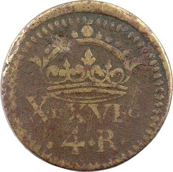 Espagne, Philippe IV, poids monétaire de 4 réaux, s.d