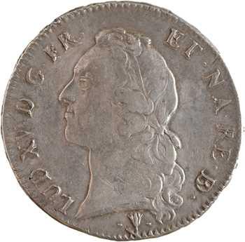 Louis XV, écu au bandeau du Béarn, 1751 Pau