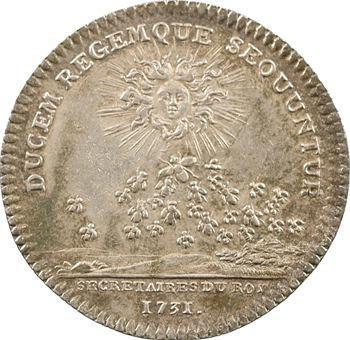 Secrétaires du Roi, Louis XV, 1731