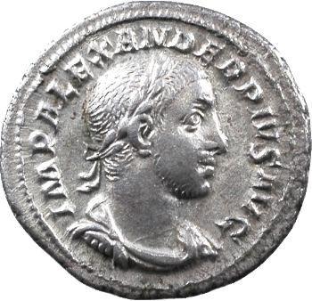 Sévère Alexandre, denier, Rome, 234