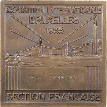 Turin (P.) : Exposition internationale de Bruxelles, 1935 Paris