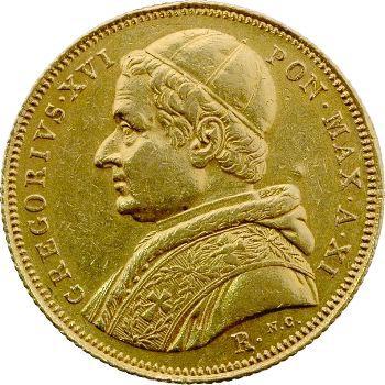 Vatican, Grégoire XVI, 10 scudi, 1841/XI Rome