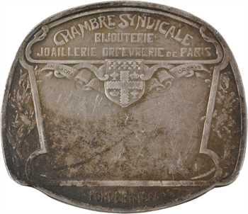 Lefèvre (C.) : Chambre syndicale de la bijouterie, joaillerie, orfèvrerie de Paris, très petit module, 1914 Paris