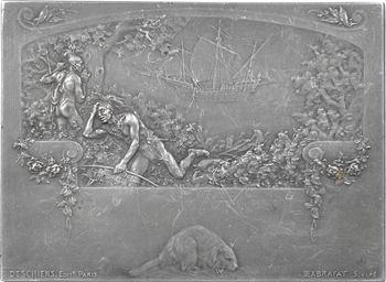 Canada, les premiers grands hommes de l'histoire du Canada, Cartier, Montcalm et Champlain, par Exbrayat, s.d. Paris (Deschiens éditeurs)