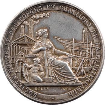 Second Empire, Forges et chantiers de la Méditerranée, Marseille-La Seyne, 1855 (1860-1879) Paris