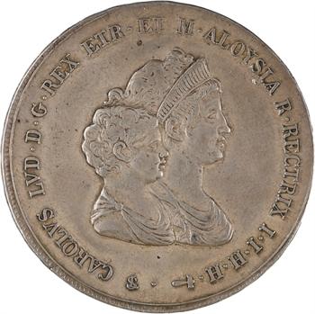 Italie, Étrurie (royaume d'), Charles-Louis, dena 2e type, 1807 Florence