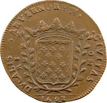 Auvergne, Riom (ville de), de Combe, Prévôt de la Monnaie, 1693