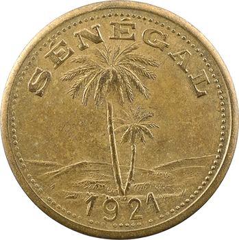 Sénégal, Ziguinchor, 1 franc Chambre de commerce, 1921 Paris