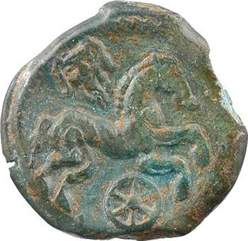 Léxoviens, bronze au buste de face, c.60-50 av. J.-C.
