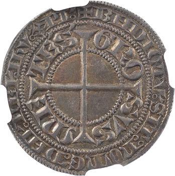 Metz (évêché de), Thierry V de Boppard, gros, s.d. Metz, NGC AU55
