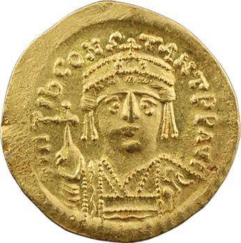 Tibère II Constantin, solidus, Constantinople, 9e officine, 578-582