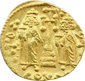 Constantin IV, solidus, Constantinople, 674-681