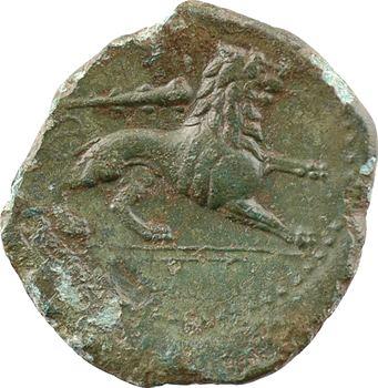 Sicile, Syracuse, règne d'Agathoclès, litra de bronze, c.295-289 av. J.-C.
