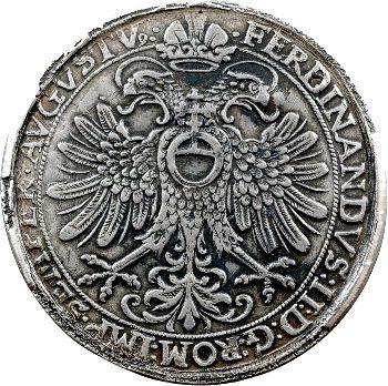 Allemagne, Hohenlohe-Neuenstein-Neuenstein (comté de), Kraft, thaler, 1624 Augsbourg