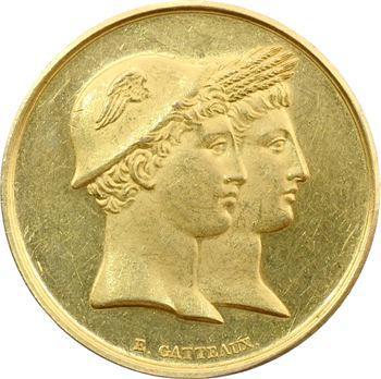 Caen : médaille d'or, Société d'agriculture, après 1880