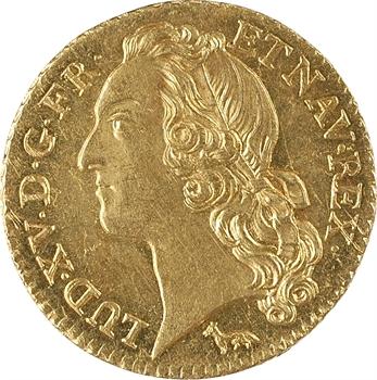 Louis XV, louis d'or au bandeau, 1753 Paris
