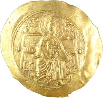 Isaac II, hyperpyron (scyphate), Constantinople, 1185-1195