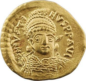 Justin Ier, solidus, Constantinople, 10e officine, 518-527