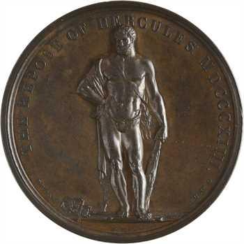 Royaume-Uni/Premier Empire, Angleterre, la paix en Europe (le repos d'Hercule), 1814 Paris