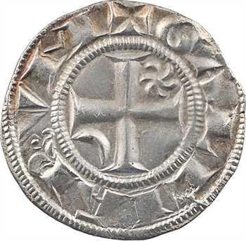 Lyon (archevêché de), anonymes, double denier, c.1260-1300