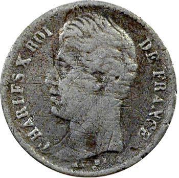 Charles X, 1/4 de franc, 1830 Bordeaux