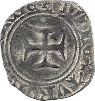 Charles VI, double tournois dit niquet, Châlons-en-Champagne
