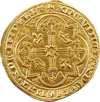 Charles V, franc à pied
