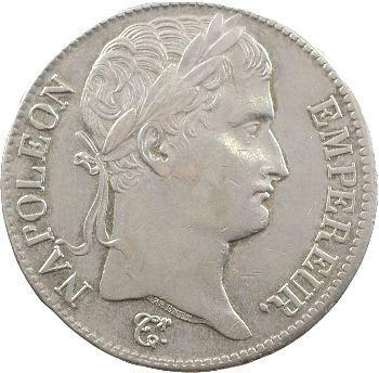 Premier Empire, 5 francs Empire, 1811 Nantes
