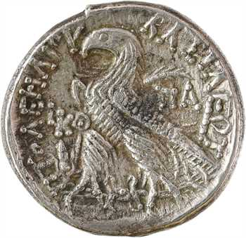 Égypte, Ptolémée XII, tétradrachme, Alexandrie, RY 29 (53-52 av. J.-C)
