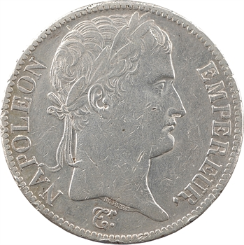 Premier Empire, 5 francs Empire, 1812 Bayonne