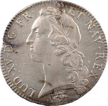 Louis XV, écu au bandeau, 1757 Lyon