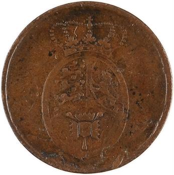 Danemark, Charles XIV Johan (Bernadotte), 2 skilling rigsbanktegn, 1815