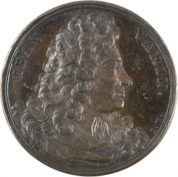 Louis XIV, Jean Varin, par Dassier, 1675 Genève