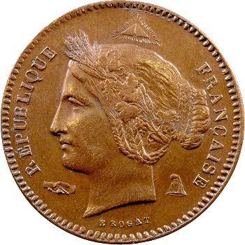 IIe République, essai de 10 centimes par Rogat, 1848 Paris