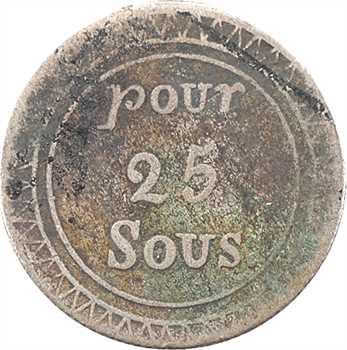 Îles Maurice et Réunion, Georges IV, 25 sous, s.d. (1822) Calcutta