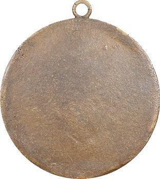 Constitution, le siège de la Bastille, médaille distribuée aux électeurs de Paris, 1789 Paris
