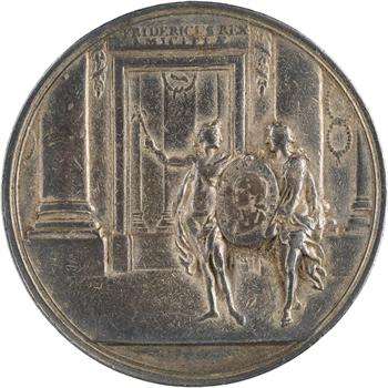 Russie, Catherine II, visite du Grand-Duc Paul Petrovitch à Berlin, 1776 Berlin